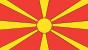 FYR Macedonia flag